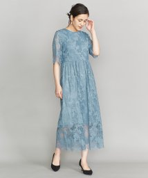 BEAUTY&YOUTH UNITED ARROWS/BY DRESS フラワーレースロングドレス/501559210