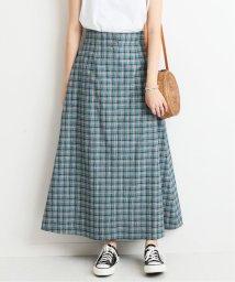 SLOBE IENA/カラーチェックAラインスカート/501559320