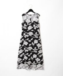 GRACE CONTINENTAL/フラワー刺繍チュールワンピース/501559890