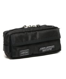 atmoslab/PORTER × ATMOS LAB PAISLEY POUCH  BLACK/501499908
