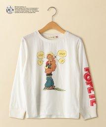green label relaxing (Kids)/【ジュニア】POPEYE(R) ロングスリーブTシャツ/501530942