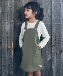 green label relaxing (Kids)/【キッズ】DICKIES(ディッキーズ)オーバーオールスカート/501541848
