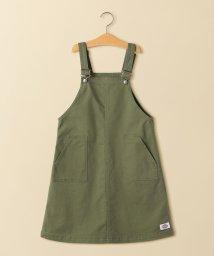 green label relaxing (Kids)/【ジュニア】DICKIES(ディッキーズ)オーバーオールスカート/501541852