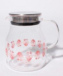 Afternoon Tea LIVING/イチゴ茶漉し付き耐熱ポット/501543285