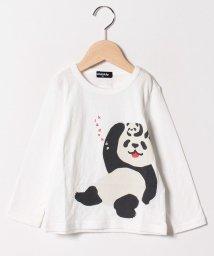 kladskap/ライオン/キリン/パンダ長袖Tシャツ/501550918