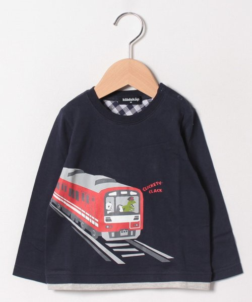 kladskap(クレードスコープ)/電車長袖Tシャツ/5391210