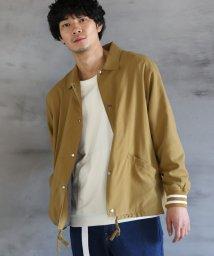 coen/ナイロンコーチジャケット(スマホポケット搭載)/501553238