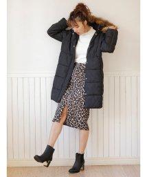 INGNI/レオパード柄ジップナロー/スカート/501553298