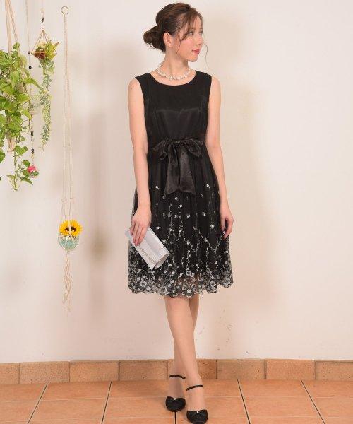 Dear Princess(ディアプリンセス)/スカラ刺繍ドレスワンピース/3089137