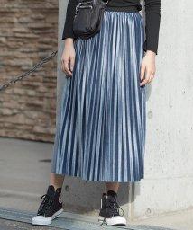 Girly Doll/ベロアプリーツスカート/501557261