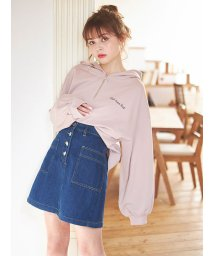 INGNI/フロントボタン台形スカート/501558290