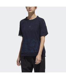 adidas/アディダス/レディス/W M4T ファブリックミックスTシャツ/501560485