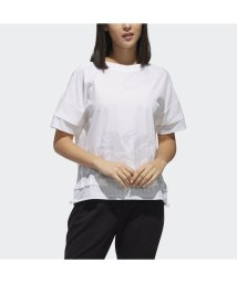 adidas/アディダス/レディス/W M4T ファブリックミックスTシャツ/501560486