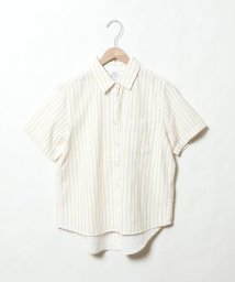 coen/ツイルダブルガーゼショートスリーブシャツ/501560538