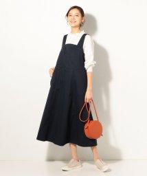 coen/バックリボンジャンパースカート/501560543