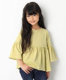 devirock/ウエスト切替フレアTシャツ 女の子/501560725
