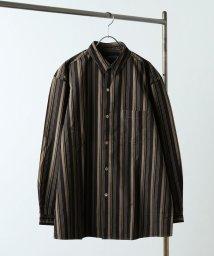 JOURNAL STANDARD relume Men's/ウェザー ストライプビッグシャツ/501561688