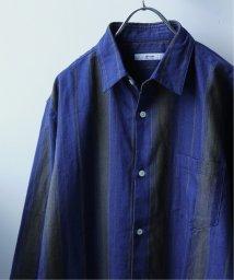 JOURNAL STANDARD relume Men's/インディゴストライプ コットンリネンシャツ/501561691
