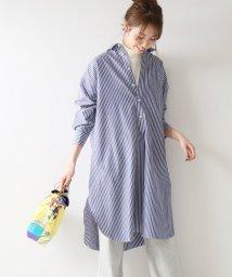 Spick & Span/≪予約≫パールボタンロングシャツ◆/501561772