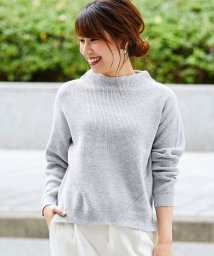 Perle Peche OUTLET/畦編みラメニット/501562241