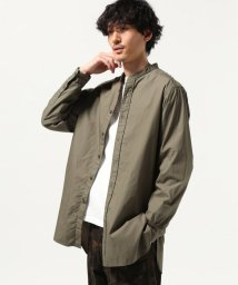 J.S Homestead/【カタログ掲載】BAND COLLAR SHIRT LONG/501562544