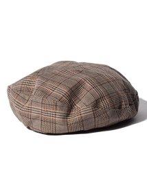 URBAN RESEARCH/【UR】チェックベレー帽/501550712