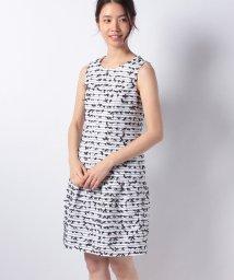 MISS J/【セットアップ対応】CLARENSON ファンシーツィード ドレス/501553304