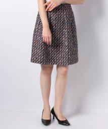 MISS J/【セットアップ対応】CLARENSON ミックスツィードスカート/501553308