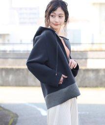 Bou Jeloud/◆コンパクトなショート丈◆ボンディングパーカージャケット/501554709