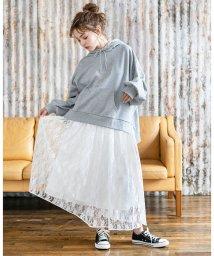 INGNI/AYレースギャザー/スカート/501556391
