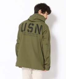 AVIREX/ルーズ フィット パーカ/COTTON RIPSTOP LOOSE FIT PARKA/501562715
