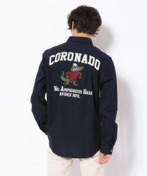 AVIREX/OXレギュラーシャツ コロナド/OXFORD REGULER SHIRT CORONADO/501562716
