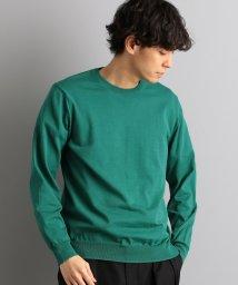 green label relaxing/ベーシック ハイゲージ クルーネック/501562720