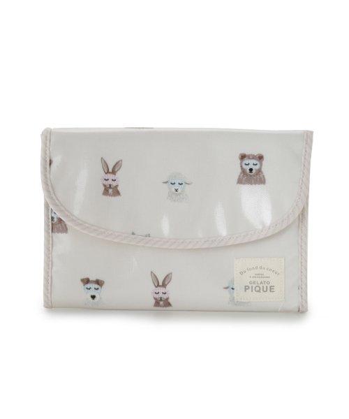 gelato pique(gelato pique)/アニマルアイマスク母子手帳ジャバラケース/PWGG191668
