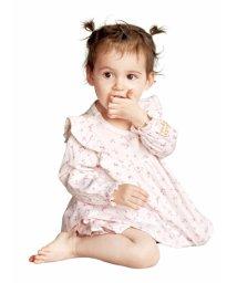 gelato pique Kids&Baby/フラワースワンbabyプルオーバー/501563209