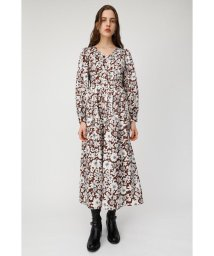 moussy/FROWER PRINTED JACQUARD ドレス/501563059