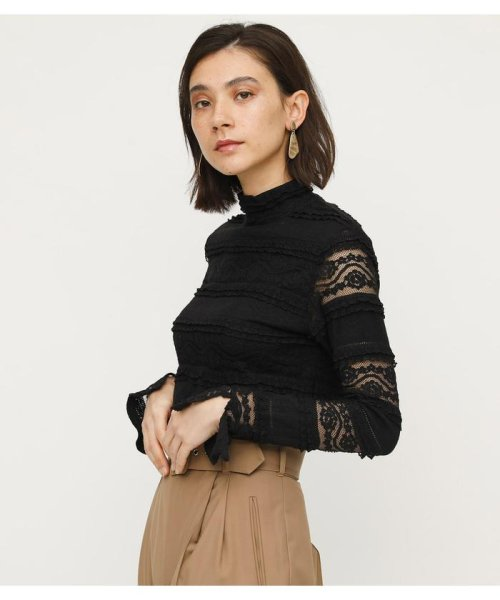 SLY(スライ)/LACE STAND TOPS/030CSY80-4990
