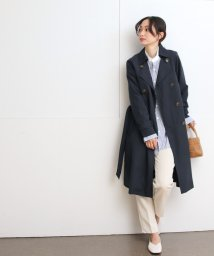 SocialGIRL/軽やかピーチスキン素材 ロング丈トレンチコート/500823927