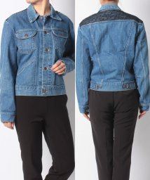 JOINT WORKS/andtema back lace denim jk/501110341