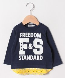 SLAP SLIP/天竺レイヤード風ロゴ長袖Tシャツ/501228483