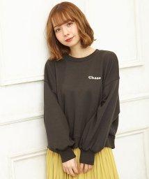 INGNI/胸ロゴ/スウェットトップス/501556216