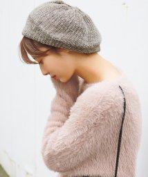 coca/モールヤーンニットベレー帽/501448530