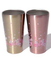 Afternoon Tea LIVING/桜柄ステンレスタンブラー 340ml(2個セット)/501549641