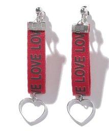 Lovetoxic/ロゴテープイヤリング/501557010