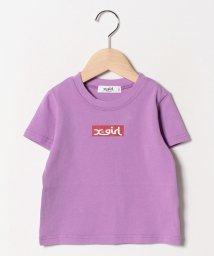 X-girl Stages/ボックスロゴハンソデTシャツ/501557027