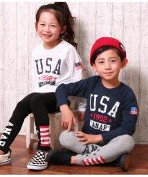 ANAP KIDS/USAフラッグロングTシャツ/501557934
