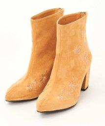 titty&Co./フラワー刺繍ブーツ/501559336