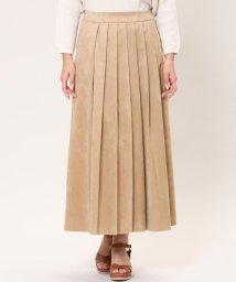 INED/《SUPERIOR CLOSET》フロントプリーツスカート《KOMASUEDE》/501566123