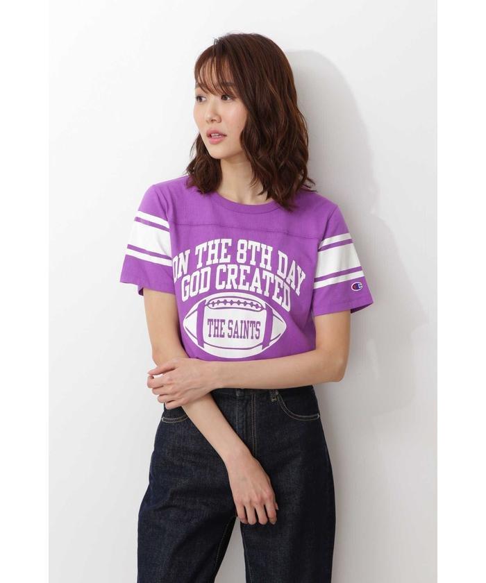 Champion フットボールTシャツ
