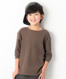 devirock/ワッフル7分袖Tシャツ/501566647
